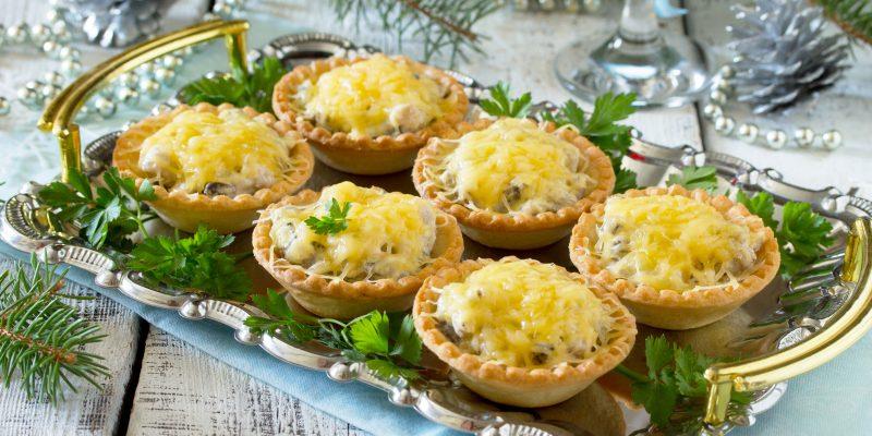 Начинки для тарталеток на закуску — простые и вкусные рецепты на праздничный стол